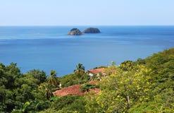 Papagayo zatoki widok Zdjęcie Stock