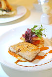 Papageien-Fisch-Steak Lizenzfreies Stockfoto
