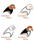 Papageiensymbole Stockfotografie