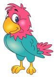 Papageienvektor Lizenzfreie Stockfotos
