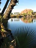 Papago公园,亚利桑那 图库摄影