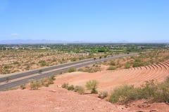 Papago Amphitheater and Scottsdale, AZ Royalty Free Stock Images