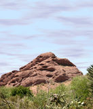 Papago Mountain. Shot from Papago Park near Phoenix, Arizona. Shot with Canon 20D Royalty Free Stock Photo