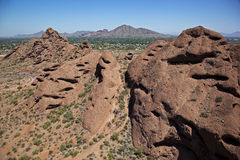 Papago Park stock photography