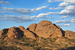 Papago Park recreation park in Phoenix Az Royalty Free Stock Images