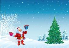 Papai Noel ilustração stock