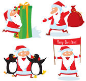 Papai Noel Fotografia de Stock Royalty Free
