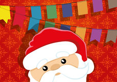 Papai Noel _2 Fotografia de Stock Royalty Free