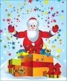 Papai Noel Fotografia de Stock