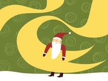 Papai Noel bonito Fotografia de Stock Royalty Free