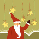 Papai Noel bonito ilustração royalty free