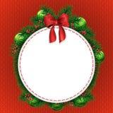Papai Noel em um sledge ilustração do vetor