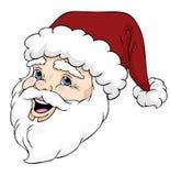 Papai Noel feliz Fotos de Stock Royalty Free