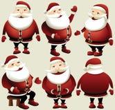 Papai Noel Hand-painted Imagens de Stock Royalty Free