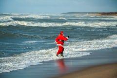 Papai Noel louco Foto de Stock