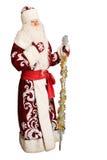 Papai Noel no branco isolado Imagens de Stock Royalty Free