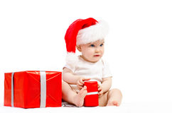 Papai Noel pequeno Fotos de Stock Royalty Free