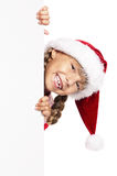 Papai Noel pequeno Fotografia de Stock Royalty Free
