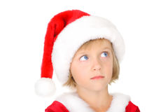Papai Noel pequeno bonito Imagem de Stock Royalty Free