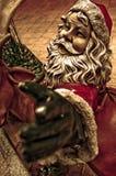 Papai Noel rústico Fotos de Stock Royalty Free