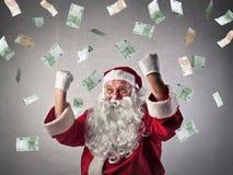 Papai Noel rico fotos de stock
