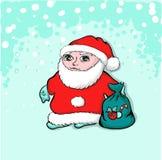 Papai Noel. Santa Claus nova. ilustração stock