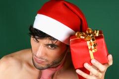 Papai Noel 'sexy' Imagens de Stock Royalty Free