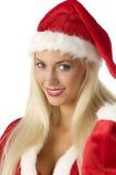 Papai Noel 'sexy' fotografia de stock royalty free