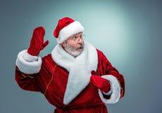 Papai Noel surpreendido Imagens de Stock Royalty Free