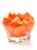 Papaia Imagem de Stock Royalty Free