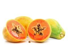 Papaia Foto de Stock Royalty Free