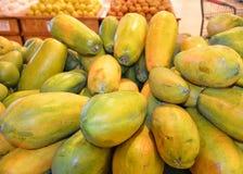 Papaia Immagini Stock