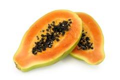 Papaia immagine stock