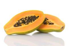 Papaia Imagens de Stock Royalty Free