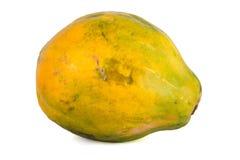 Papaia (Carica papaya) fotografie stock