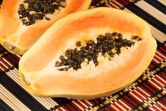 Papaia close-up Stock Photo