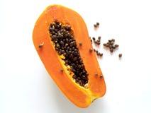 Papaia fresca Foto de Stock Royalty Free