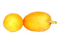Papaia fresca e saporita. Immagini Stock