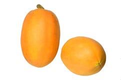 Papaia fresca e saporita. Immagini Stock Libere da Diritti