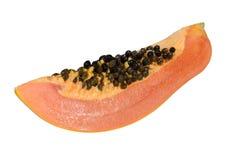 Papaia fresca e saporita. Immagine Stock