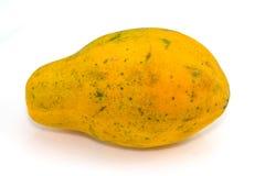 Papaia gialla immagine stock