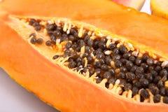 Papaia, melone ed anguria Fotografia Stock
