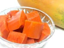 Papaia, pawpaw Imagem de Stock Royalty Free