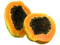 Papaia rossa 1 Fotografia Stock