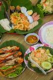 Papaia tailandese fotografie stock libere da diritti