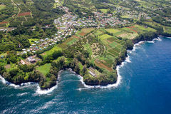 Papaikou,大岛,夏威夷 库存照片