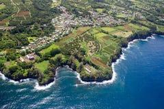 Papaikou, grande île, Hawaï photos stock