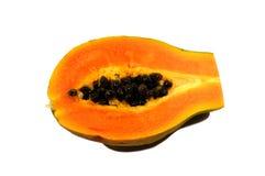 Papaja 1 stock afbeelding