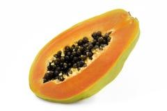 Papaja royalty-vrije stock afbeelding