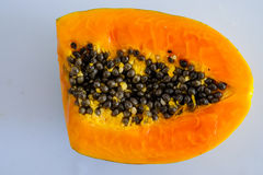 papaja stock afbeelding